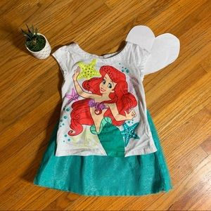 Disney Little Mermaid outfit - skirt and top